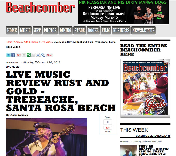 Neil Young Tribute Band by The Beachcomber Destin
